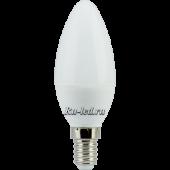 Ecola candle   LED 6,0W 220V E14 4000K свеча (композит) 101x37