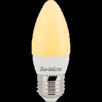 Ecola candle   LED Premium  8,0W 220V E27 золотистая свеча (композит) 100x37