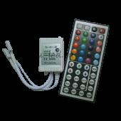 Ecola LED strip RGB IR controller 144W 12V 12A с большим инфракрасным пультом управления