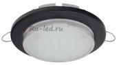 Ecola GX53 DGX5315 Встраиваемый Легкий Черный (светильник) 18x100