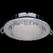 Ecola GX53 FT3225 светильник встраиваемый глубокий легкий хром 27x109