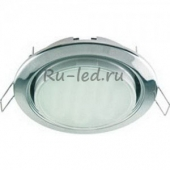 Ecola GX53 H4 Downlight without reflector_chrome (светильник) 38x106 - 2pack (кd102)
