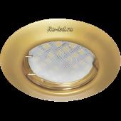 Ecola Light MR16 DL92 GU5.3 Светильник встр. выпуклый Перламутровое золото 30x80