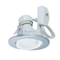 Ecola GU10 DU5085 светильник встраив. поворотный легкий Серебро 73x85