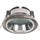 Ecola GX53 H2R Downlight with reflector_satin chrome (светильник) 58x125