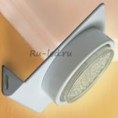 Ecola GX53-N82 светильник настенный угловой белый 52*130*111