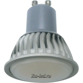 Ecola Reflector GU10  LED  7,0W 220V 2800K (ребристый алюм. радиатор) 56x50