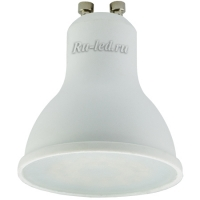 Ecola Reflector GU10  LED  5,4W  220V 4200K (композит) 56x50