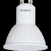 Ecola Reflector GU10  LED  4,2W 220V 4200K матовое стекло (композит) 50x50
