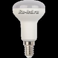 Ecola Reflector R50   LED Premium  7,0W  220V E14 6500K (композит) 87x50