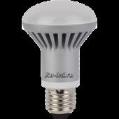 Ecola Reflector R63   LED 12,0W 220V E27 2800K (ребристый алюм. радиатор) 102x63