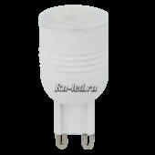 Ecola G9  LED  3,3W Ceramic Mini 220V 4200K 180° (керамика) 49x23