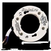 Ecola base GX53 патрон с проводами 2*10cm с проходными контактами (быстрый монтаж), 1 из уп. 400 шт.