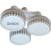 Ecola High Power LED Premium 69W 220V 110° E27 2800K (комплект) 165х260mm