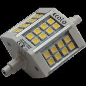 Ecola Projector   LED Lamp Premium  6,0W F78 220V R7s 4200K (алюм. радиатор) 78x32x51