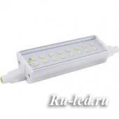Ecola Projector   LED Lamp Premium  8,7W F118 220V R7s 6500K (алюм. радиатор) 118x20x32