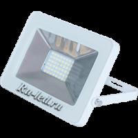 Ecola Projector  LED  50,0W 220V 4200K IP65 Светодиодный Прожектор тонкий Белый 221x154x20