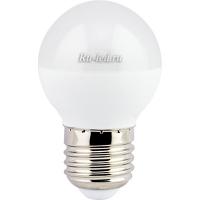 Ecola globe   LED  7,0W G45  220V E27 2700K шар (композит) 75x45