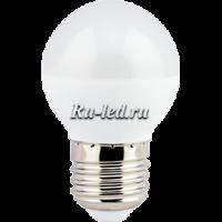Ecola globe   LED Premium  7,0W G45  220V E27 золотистый шар (композит) 82x45