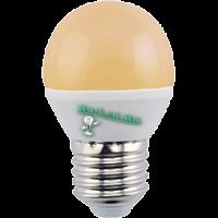 Ecola globe   LED Premium  8,0W G45  220V E27 золотистый шар (композит) 75x45