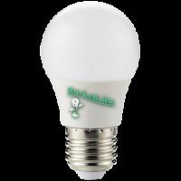 Ecola globe   LED  8,2W G50 220V E27 4000K шар 270° (композит) 95x50