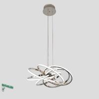 00123-6-43W-4000К Люстра светодиодная подвесная белая