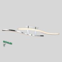 00152-5-26W-4000K Люстра светодиодная потолочная хром