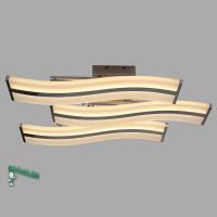 00153-6-67W-4000K Люстра светодиодная потолочная хром