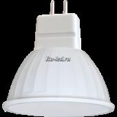 Ecola MR16   LED  4,2W 220V GU5.3 4200K матовое стекло (композит) 42x50