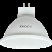 Ecola MR16   LED  5,4W 220V GU5.3  4200K матовое стекло (композит) 48x50