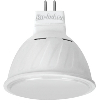 Ecola MR16   LED Premium 10,0W  220V GU5.3 6000K матовое стекло (композит) 51x50