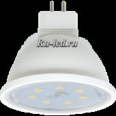 Ecola MR16   LED Premium  7,0W  220V GU5.3 2800K прозрачное стекло (композит) 48x50