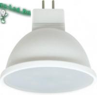 Ecola Light MR16   LED  7,0W  220V GU5.3 2800K матовое стекло (композит) 48x50 (1 из ч/б уп. по 4)