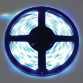 Ecola LED strip PRO  7,2W/m 12V IP65 10mm 30Led/m Blue синяя светодиодная лента на катушке 5м.
