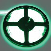 Ecola LED strip PRO  4,8W/m 12V IP65   8mm  60Led/m Green зеленая светодиодная лента на катушке 5м.