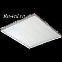 Ecola LED panel универс. (без ступеньки) панель с драйвером внутри 36W 220V 6500K Призма 595x595x19