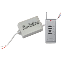 Ecola LED strip RGB RF IP65 controller 12A 12V 144W (24V 288W) с радиопультом