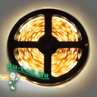Ecola LED strip 220V STD  7,2W/m IP68 14x7 30Led/m 2800K 12Lm/LED 360Lm/m лента  10м.