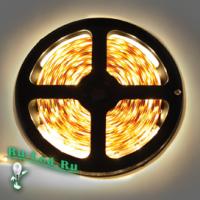 Ecola LED strip 220V STD 14,4W/m IP68 14x7 60Led/m 2800K 12Lm/LED 720Lm/m лента  10м.