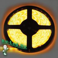 Ecola LED strip 220V STD  4,8W/m IP68 12x7 60Led/m Yellow желтая лента  20м.