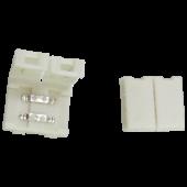 Ecola LED strip connector разъем зажимной 2-х конт. 10 mm уп. 5 шт.