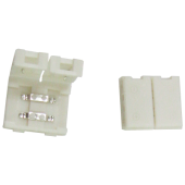 Ecola LED strip connector разъем зажимной 2-х конт. 10 mm 1шт.