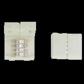 Ecola LED strip connector разъем зажимной 4-х конт. 10 mm 1шт.