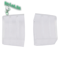Ecola LED strip 220V connector end cap заглушка для IP68 16x8 ленты уп. 10шт