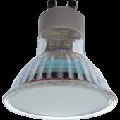 Ecola Light Reflector GU10  LED  3W 220V GU10 2800K матовое стекло 53х50