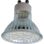 Ecola Light Reflector GU10  LED  3W 220V GU10 2800K прозрачное стекло 53x50