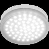 Ecola Light GX53 LED  4,2W Tablet 220V 6400K 27x75 матовое стекло 30000h