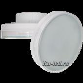 Ecola GX70   LED 10.0W Tablet 220V 4200K матовое стекло 111х42