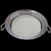 Ecola Light GX53 H4 светильник Хром встр.без рефл.с лампой GX53 11W 2700К 38x106