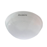 "Ecola Light GX53 LED ДПП 03-60-2 светильник ""Сириус"" Круг накладной IP65 1*GX53 матовый белый 220х220х100"